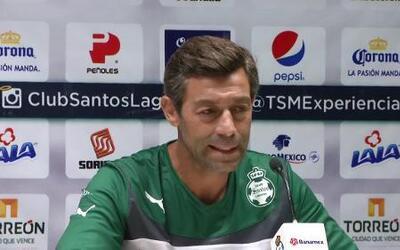 Caixinha etiquetó el Santos-Monterrey de clásico