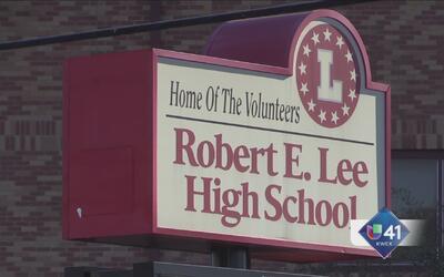 Podrían cambiar nombre de Robert E. Lee Highschool