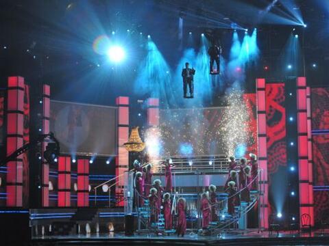 Chino y Nacho se llevaron un gran susto la noche de Premio Lo Nuestro.