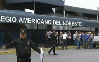 Un joven abrió fuego en un colegio de Monterrey contra su maestra y vari...