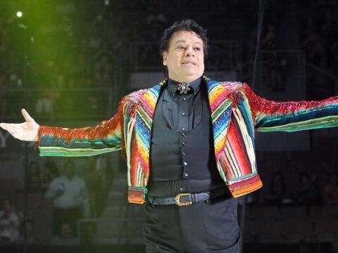 El cantante mexicano Juan Gabriel se presentó en el Mandalay Bay...