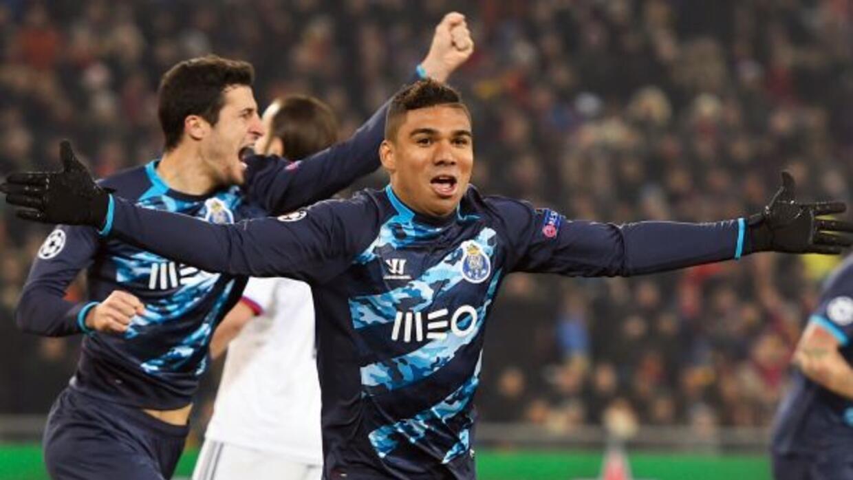 Danilo convirtió el penalti con el que los 'Dragones' sacaron el empate...