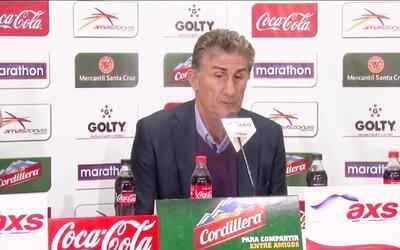 """Edgardo Bauza sobre la sanción a Messi: """"No tuvimos tiempo de probar con..."""