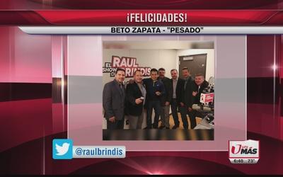 ¡Feliz cumpleaños a Beto Zapata de Grupo Pesado!
