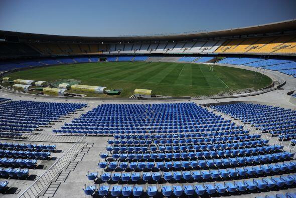 El Estadio Periodista Mario Filho, conocido como 'Maracaná', fue...