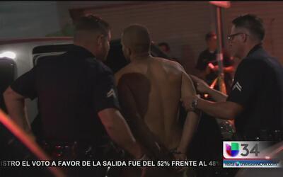 Hombres armados son arrestados tras una serie de atracos