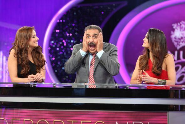 Fernando Fiore se desesperó un poco con las chicas, pues dijo que hablab...