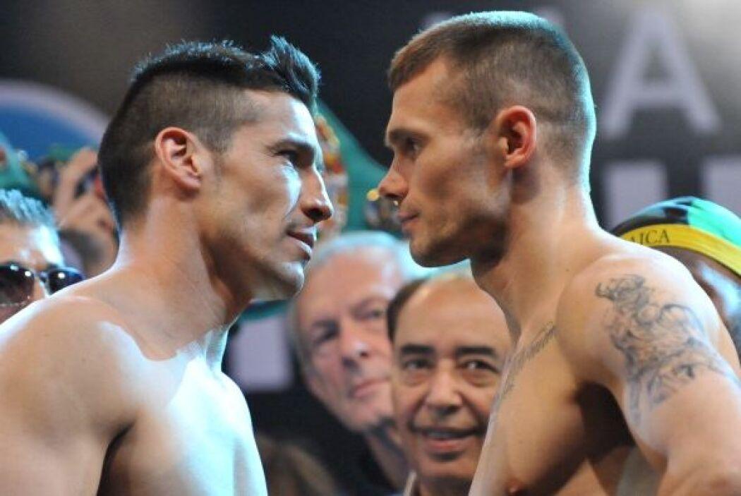 Sergio 'Maravilla' Matínez y Martin Murray están listos para su combate...