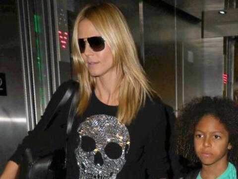 Así llegó Heidi con su familia a Jamaica.