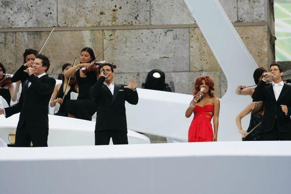 El tema oficial del Mundial Alemania fue 'The Time of Our Lives'.