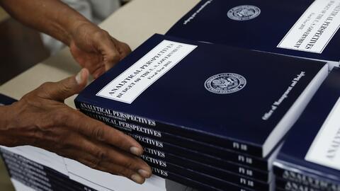 El nuevo presupuesto para el año fiscal 2018 'Analytical Perspective...
