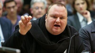 Kim Dotcom está en Nueva Zelanda esperando un juicio de extradición a EE...