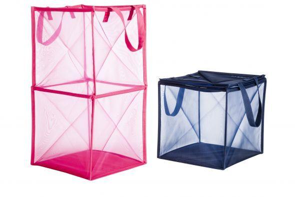 Otra posibilidad es usar contenedores transparentes.