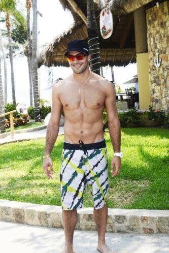 Estaba feliz en Acapulco, ¿qué calificación le das a su abdomen?