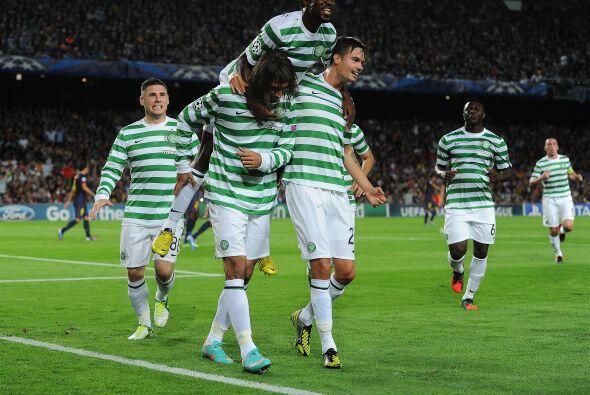 Celtic estaba sacando un resultado esperanzador, aunque aún faltaba dema...