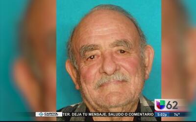 Buscan a hombre de 84 años desaparecido en Cedar Park