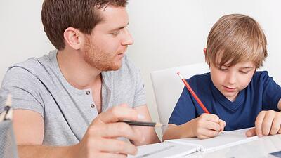 Acompau00f1emos en el estudio a nuestros hijos.