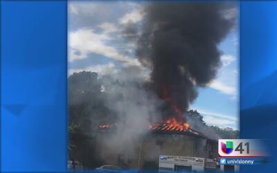 Incendio en un edificio de Plainfield deja dos muertos
