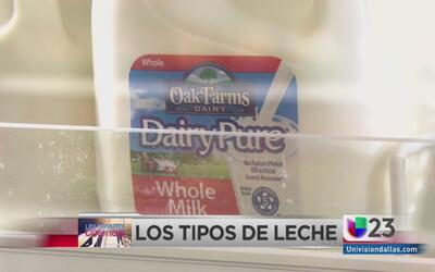 Un minuto contigo: tipos de leche recomendados