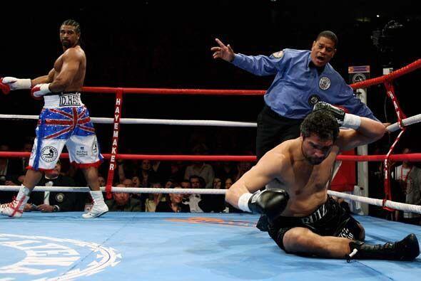 La esquina de John Ruiz tiró la toalla ante la evidencia de que no ganar...