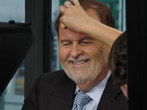Raúl de Molina viajó a la Ciudad de México para rea...