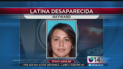 Buscan a latina desaparecida en Hayward