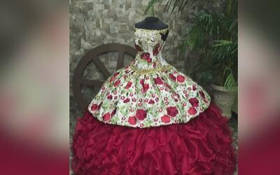 Diseñador de Dallas quiere que Rubí Ibarra García use en su fiesta de 15...