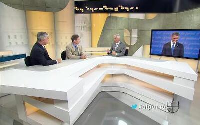 Jorge Ramos fue Al Punto en la mesa redonda sobre los temas de la semana...
