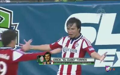 Erik 'Cubo' Torres,14 goles que valen un puesto en la Selección de México