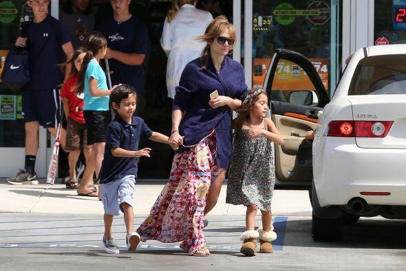 Jennifer Lopez tuvo un fin de semana muy divertido.