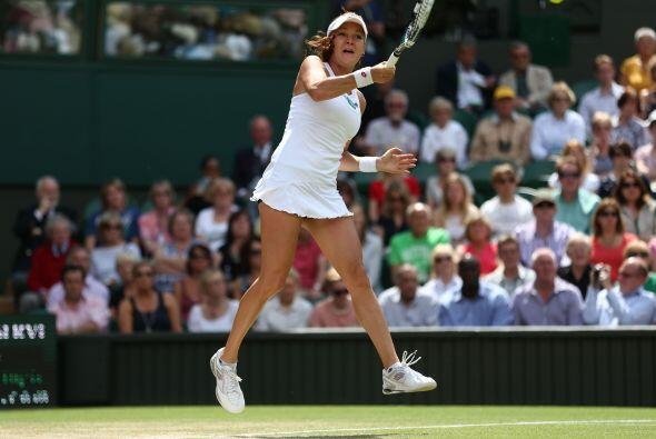 La tenista de Cracovia pone así la guinda a un torneo impecable,...