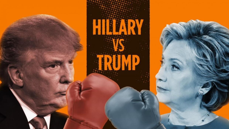 Los seis asaltos entre Trump y Clinton en el segundo debate presidencial