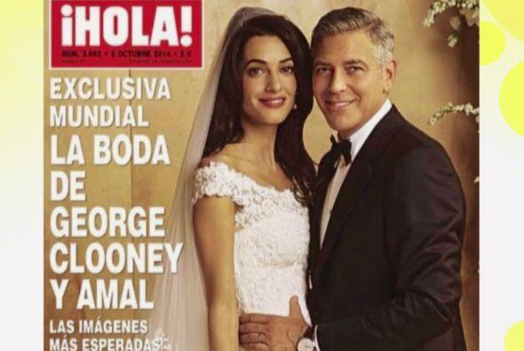 """La exclusiva de la boda se la llevo la publicación """"Hola""""."""