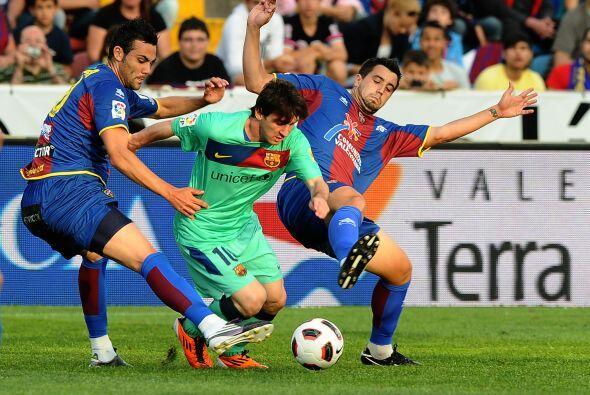 Lionel Messi no ha tenido tanta puntería de cara al marco rival en las ú...