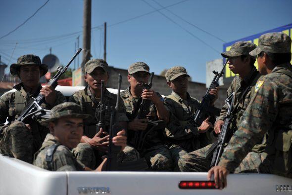 La presencia de los Zetas en Guatemala ya está más que com...