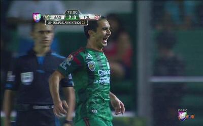 Jaguares vs Toluca: Emiliano Armenteros anota el 2-0 para Jaguares