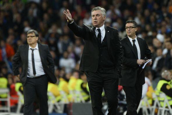 Carlo Ancelotti estaba a punto de explotar al ver que su equipo perd&iac...