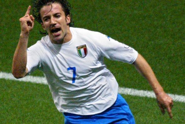 Del Piero pudo disputar el Mundial de Corea-Japón 2002, donde mar...