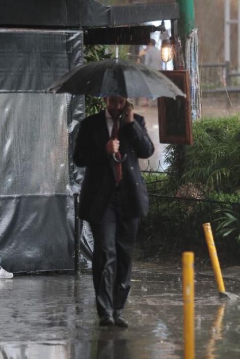 El martes fueron tres los fenómenos que se sumaron a las intensas lluvia...