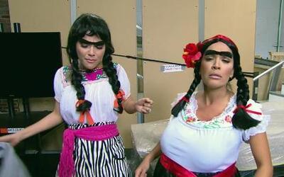 Doña Chona llegó buscando a su hija, la fan