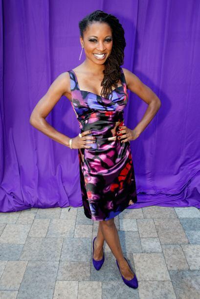Shanola Hampton La actriz de 36 años, quien aparece en el program...