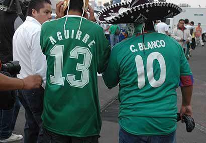 El duo Blanco - Aguirre se unió para llevar a México al Mundial.