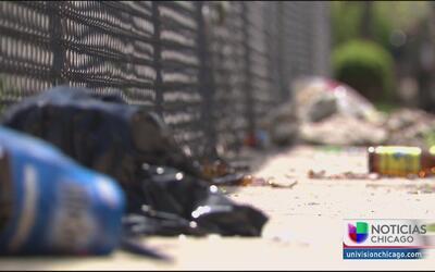 Denuncian problemas de basura y mal olor en barrio de West Town