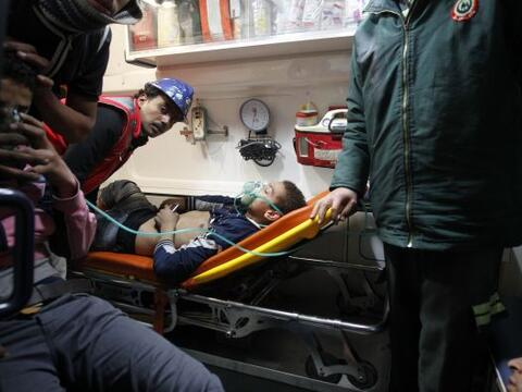 Todos los heridos han sido trasladados a los hospitales, afirmó O...