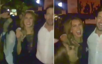 En vídeo: William Levy y Elizabeth Gutierrez salen de fiesta en Miami