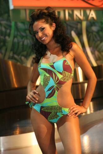 Mayra Muñoz, primera finalista 2007.