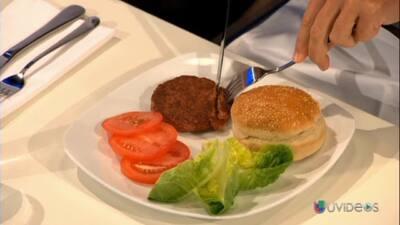 Conoce cómo hicieron la hamburguesa de laboratorio