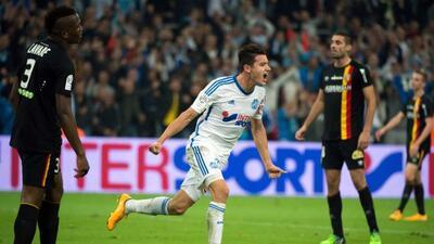 Con goles de Baptiste Guillaume y de Florian Thauvin, el equipo de Biels...