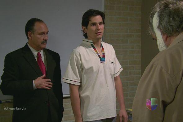 Aarón se ha llevado gran sorpresa al ver que su primer alumno será Leonc...