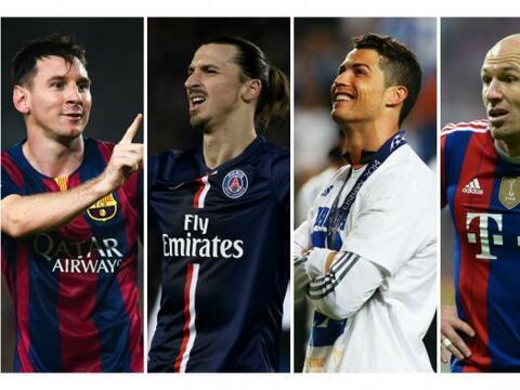 El portal de la UEFA publicó el '11' de ensueño del a&ntil...